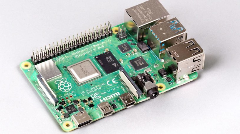 Raspberry Pi z 8 GB RAM /materiały prasowe