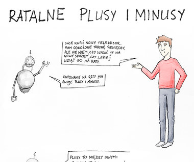 Ratalne plusy i minusy (infografika)