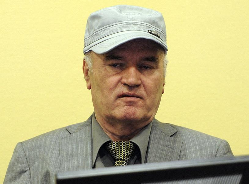 Ratko Mladić usunięty z sali sądowej w Hadze /AFP