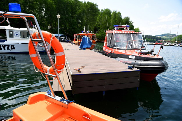 54-latek utonął w jeziorze. Próbował uratować 7-letniego chłopca