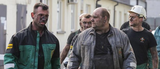 ratownicy górniczy w kopalni Zofiówka w Jastrzębiu-Zdroju /Dominik Gajda /PAP