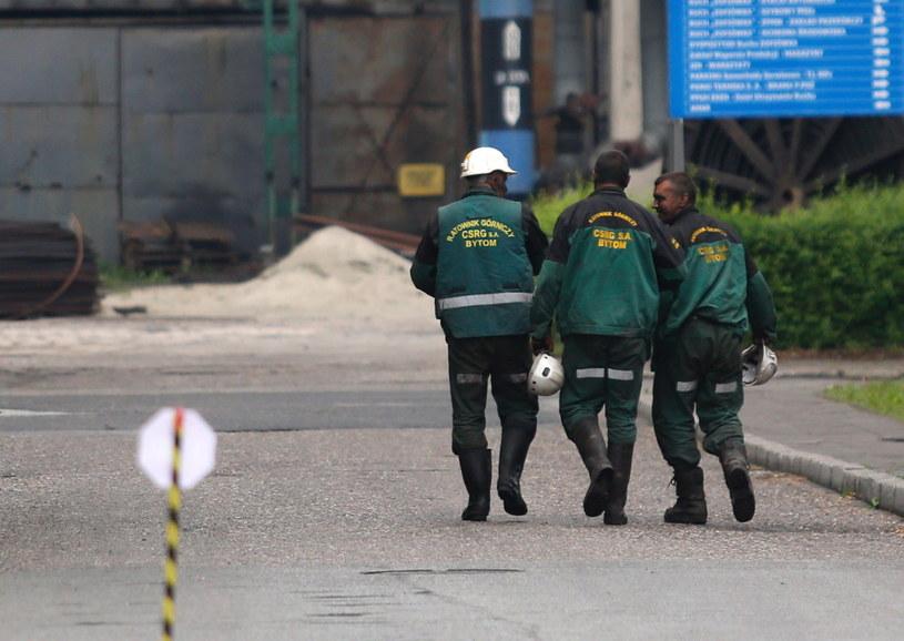 Ratownicy przed kopalnią Borynia-Zofiówka-Jastrzębie w Jastrzębiu-Zdroju / Andrzej Grygiel /PAP