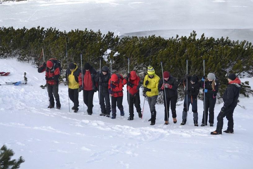 Ratownicy TOPR poszukują zaginionego w górach /Albin Marciniak /East News