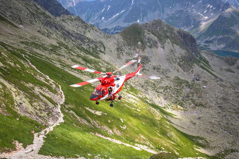 Ratownicy TOPR poszukują zaginionego w Tatrach turysty /123RF/PICSEL