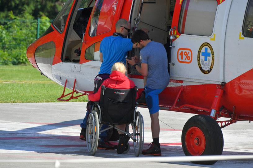 Ratownicy TOPR są gotowi na wezwanie potrzebujących w każdej chwili, jednak często proszą turystów o rozwagę /Paweł Murzyn  /East News
