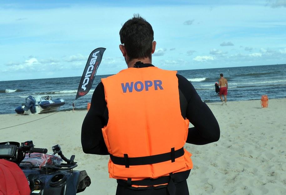Ratownicy WOPR. Zdj. ilustracyjne /Marcin Bielecki /PAP