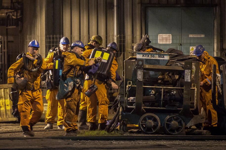 Ratownikom udało się opanować podziemny pożar w kopalni CSM Stonawa /LUKAS KABON /PAP/EPA