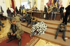 Ratusz w Kijowie przyjął protestujących Ukraińców
