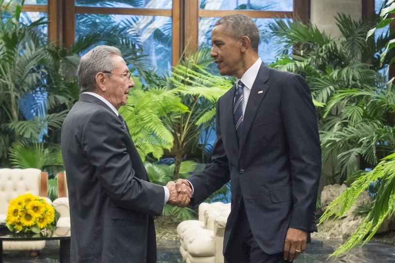 Raul Castro i Barack Obama /PAP/EPA