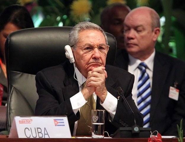Raul Castro /PAP/EPA/ALEJANDRO ERNESTO /PAP/EPA