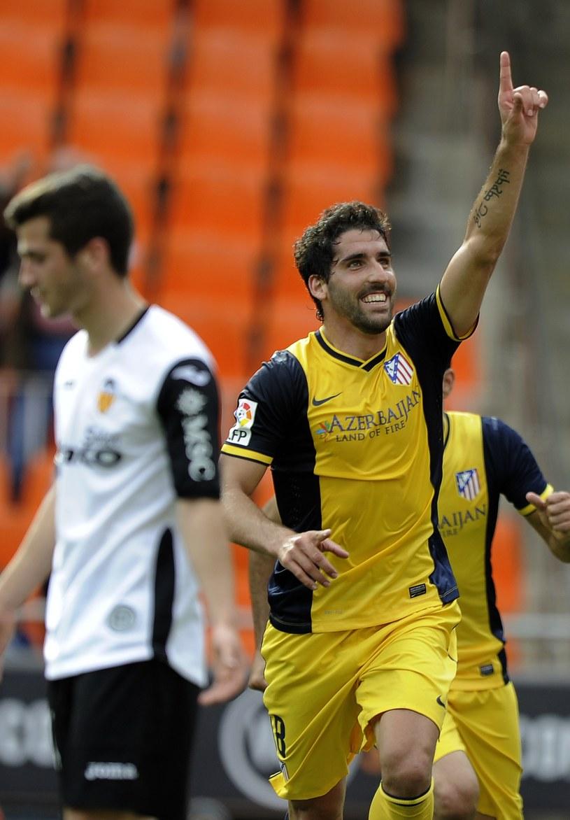 Raul Garcia zdobył zwycięskiego gola dla Atletico /AFP