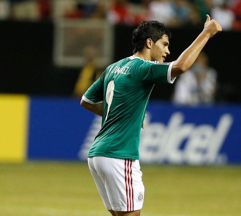 Raul Jimenez dał Meksykowi wygraną z Trynidadem i Tobago /AFP