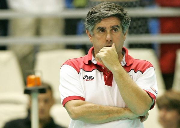 Raul Lozano nie przejmuje się porażkami w Serbii /Agencja Przegląd Sportowy