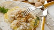 Ravioli z ricottą, parmezanem i zielonym pesto