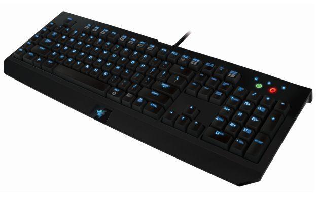 Razer BlackWidow Ultimate Stealth Edition - motyw graficzny /Informacja prasowa