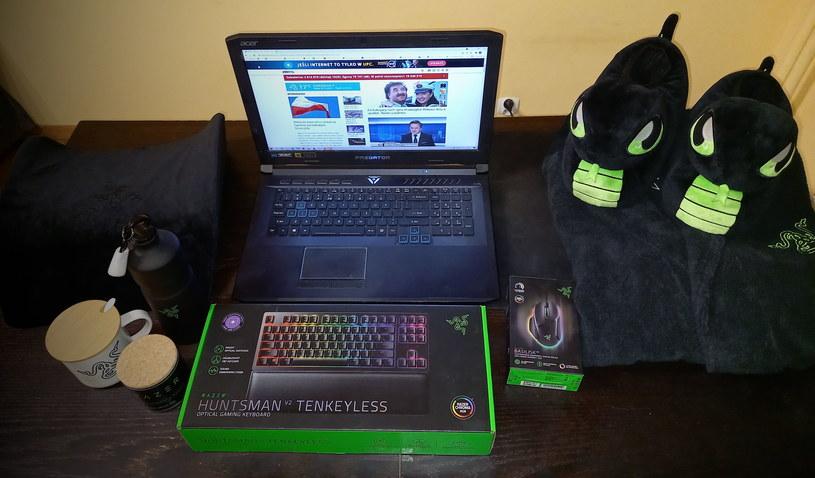 Razer Comfy Gaming Kit /INTERIA.PL