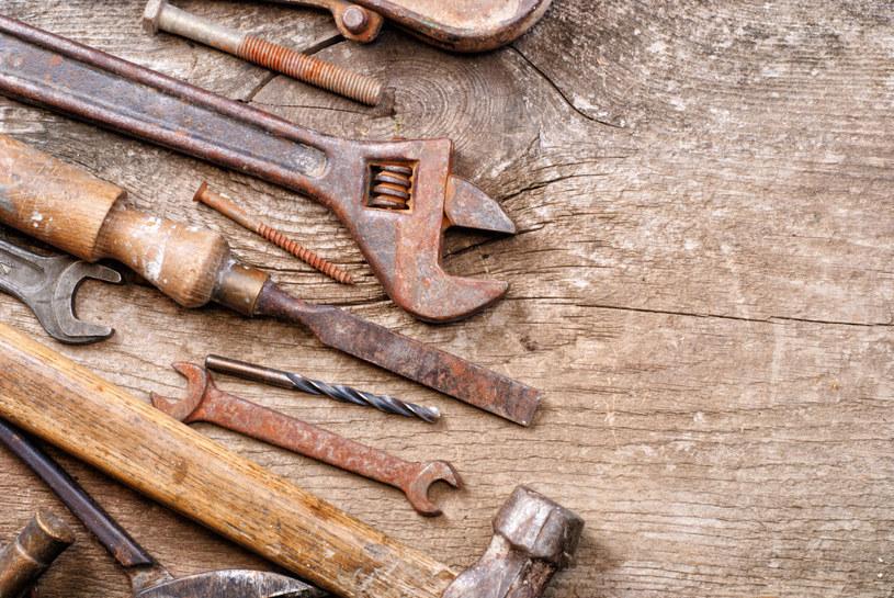 rdza na narzędziach /© Photogenica
