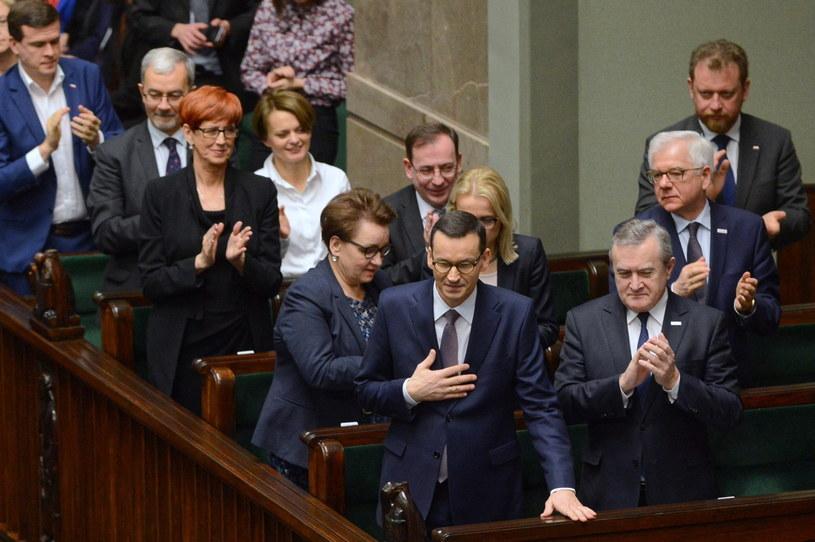 Reakcja rządu, po wystąpieniu premiera Mateusza Morawieckiego / Jakub Kamiński    /PAP