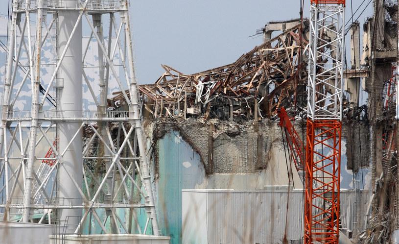 Reaktor 3 w Fukushimie, 26 maja 2012 /Tomohiro Ohsumi  /AFP