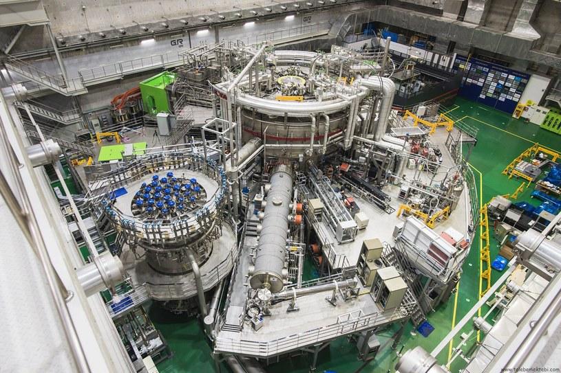 Reaktor KSTAR osiągnął 100 milionów stopni Celsjusza /materiały prasowe