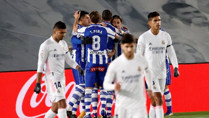 Real Madryt - Deportivo Alaves 1-2 w 11. kolejce Primera Division