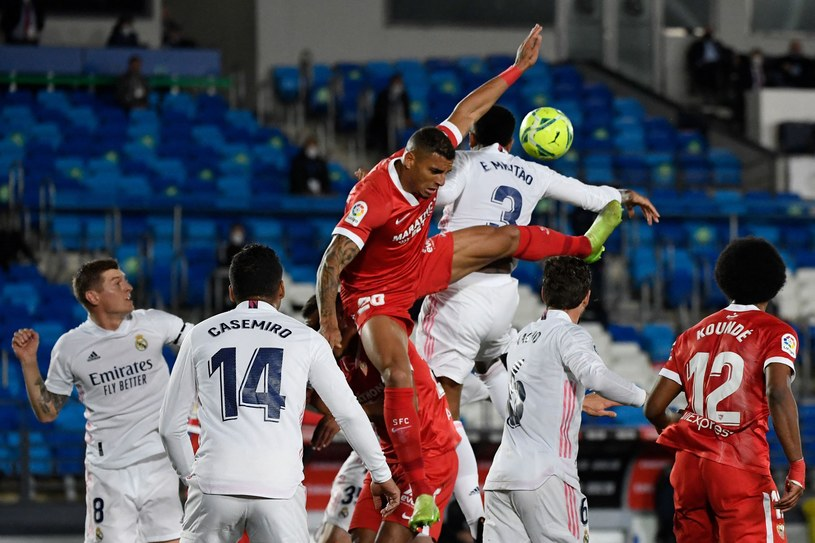 Real Madryt - Sevilla FC /PIERRE-PHILIPPE MARCOU /AFP
