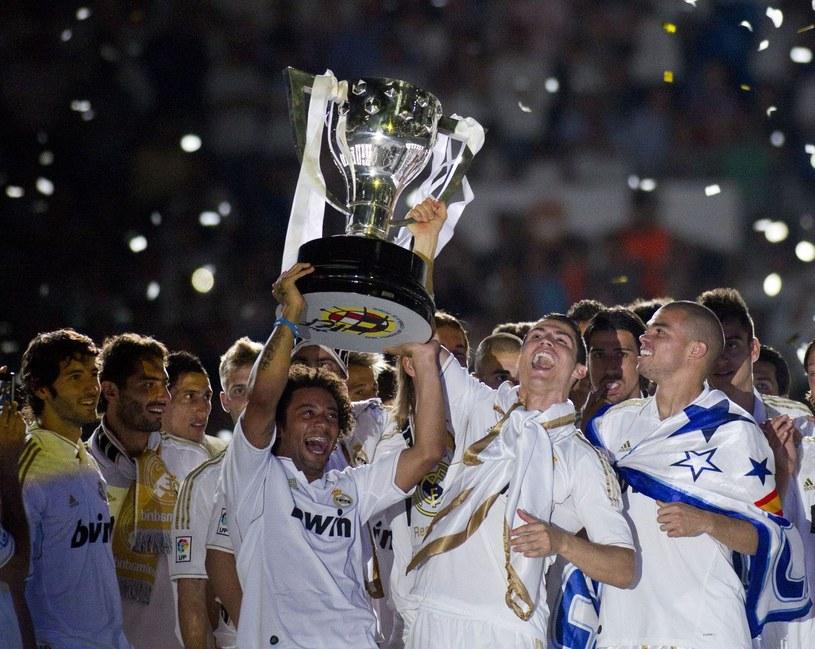 Real Madryt to mistrzowie Hiszpanii /AFP