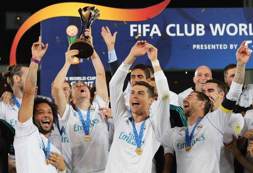 Real Madryt w sobotę zdobył tytuł KMŚ /AFP