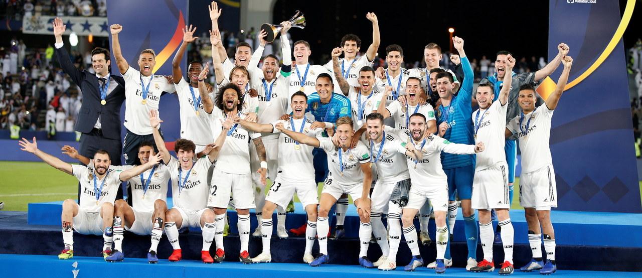 Real Madryt z klubowym mistrzostwem świata