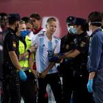 Real Mallorca - FC Barcelona 0-4. Pseudokibic wbiegł na murawę, pomimo surowych obostrzeń