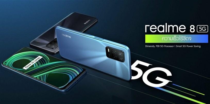 Realme 8 5G /materiały prasowe