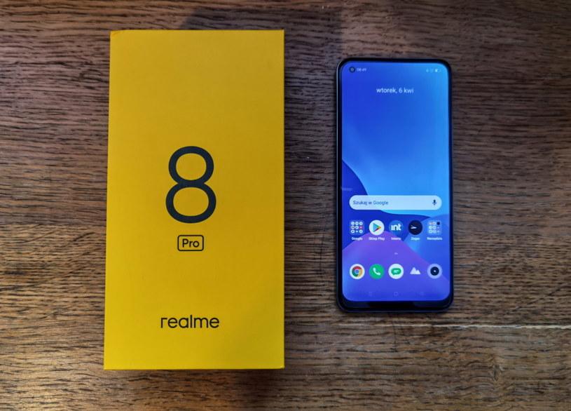 Realme 8 Pro /INTERIA.PL