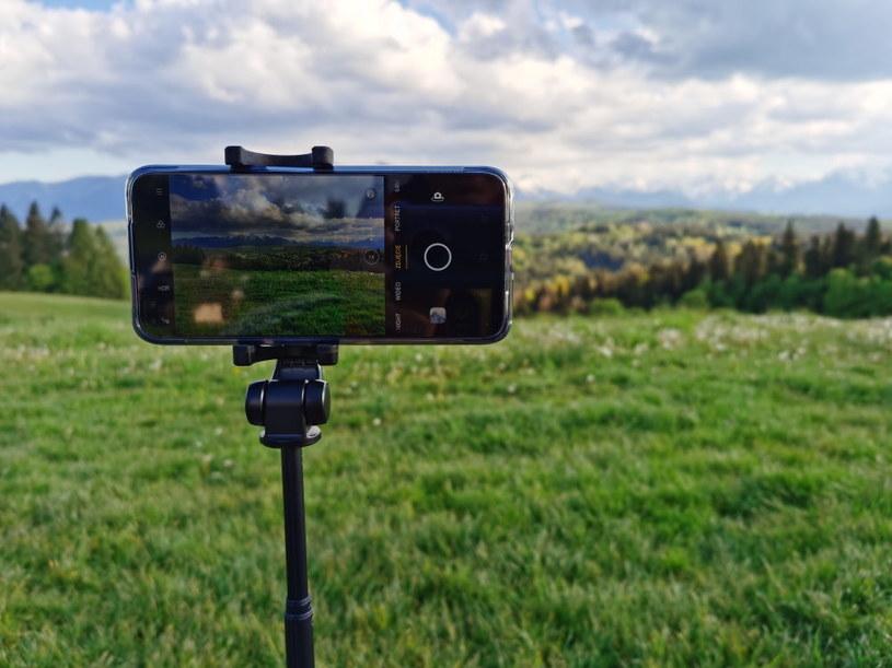 Realme X3 SuperZoom i widok na Tatry Bielskie - optymalny scenariusz, aby przetestować zooma /INTERIA.PL