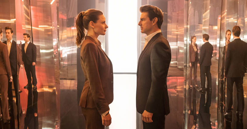 """Rebbeca Ferguson i Tom Cruise w filmie """"Mission: Impossible - Fallout"""" /Universal Pictures /materiały dystrybutora"""