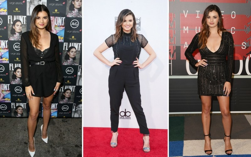 Rebecca Black błyszczy na ściankach /Jonathan Leibson/Mark Davis/Jason Merritt /Getty Images