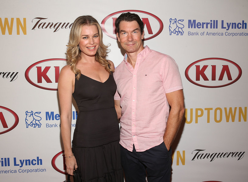 Rebecca Romijn, Jerry O'Connell /Jesse Grant /Getty Images