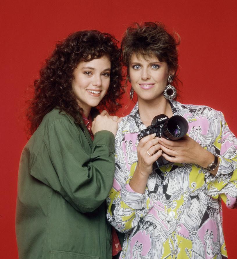 """Rebecca Schaeffer i Pam Dawber w serialu """"Moja siostra Sam"""" /CBS Photo Archive  /Getty Images"""