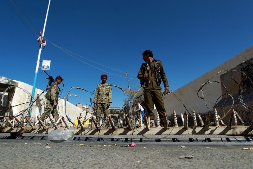 Rebelianci Huti /MOHAMMED HUWAIS /AFP