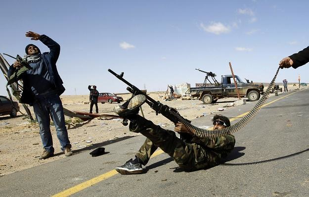 Rebelianci odrzucają ofertę Kadafiego, fot. REUTERS/Goran Tomasevic /Agencja FORUM