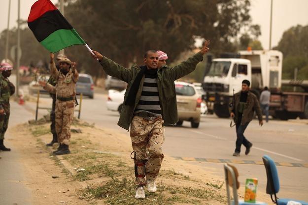 Rebelianci w Bengazi /AFP