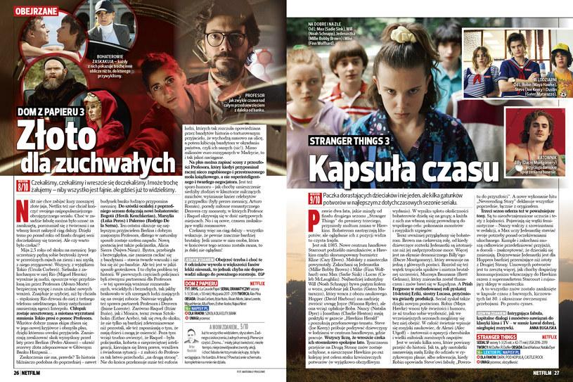 Recenzje seriali w NETFILM /Bauer