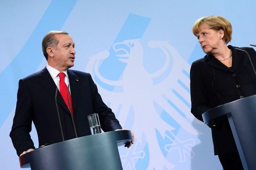 Recep Erdogan i Angela Merkel /AFP