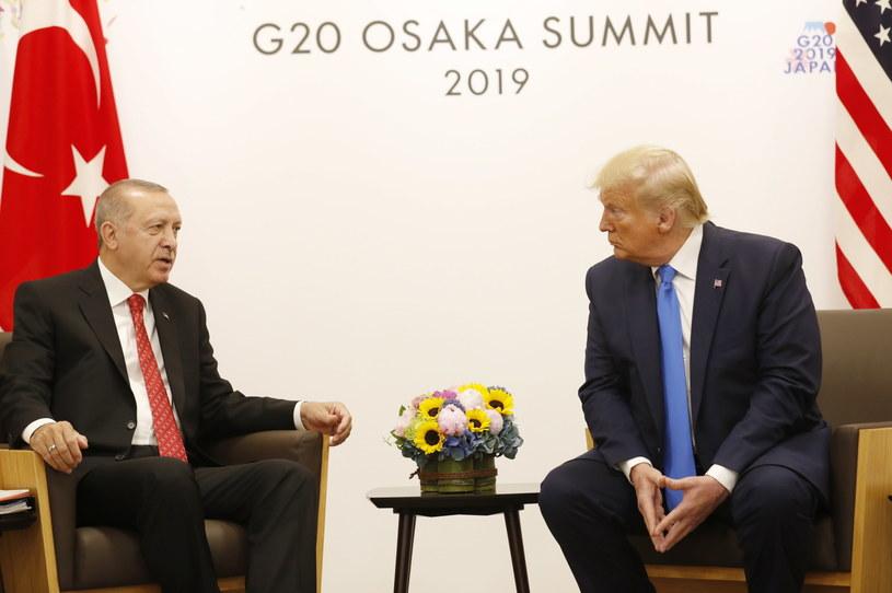 Recep Erdogan i Donald Trump /TURKISH PRESIDENTAL PRESS OFFICE / HANDOUT /PAP/EPA