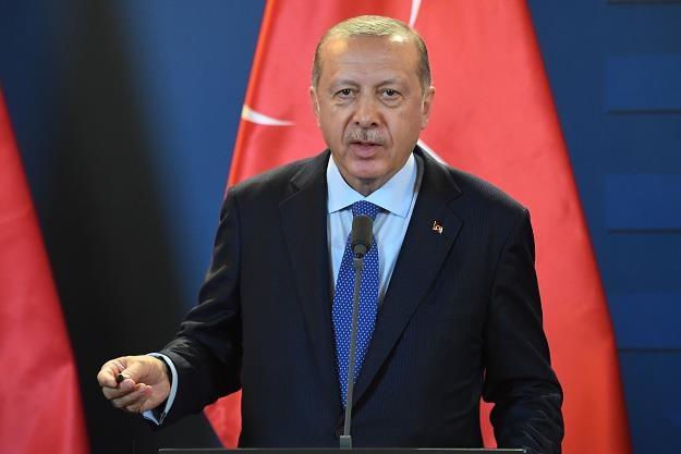 Recep Erdogan, prezydent Turcji /fot. Attila Kisbenedek /AFP