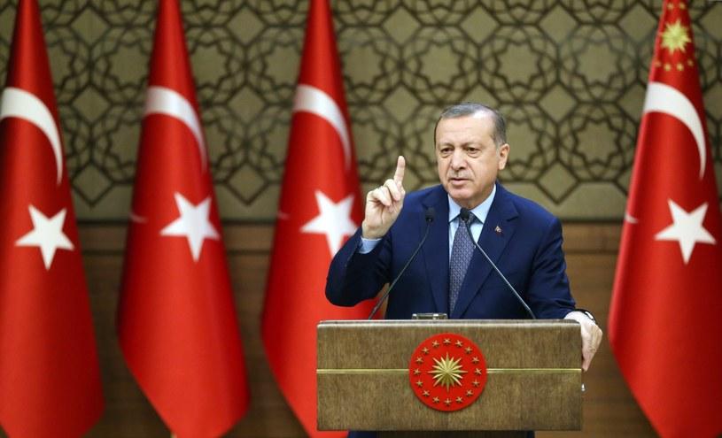 Recep Erdogan /TURKISH PRESIDENT PRESS OFFICE /PAP/EPA