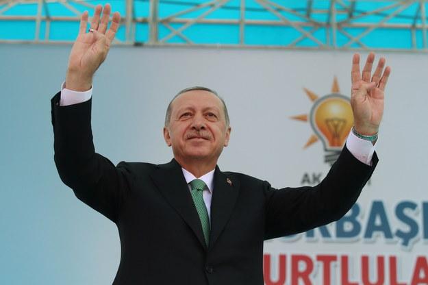 Recep Erdogan /TURKISH PRESIDENTAL PRESS OFFICE / HANDOUT /PAP/EPA