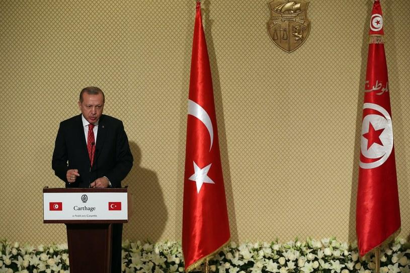 Recep Tayyip Erdogan /MOHAMED MESSARA /PAP/EPA