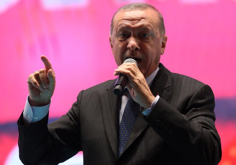 Recep Tayyip Erdogan /ERDEM SAHIN /PAP/EPA