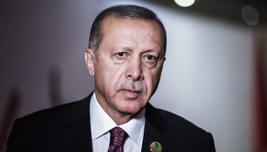 Recep Tayyip Erdogan /GIANLUIGI GUERCIA /PAP/EPA