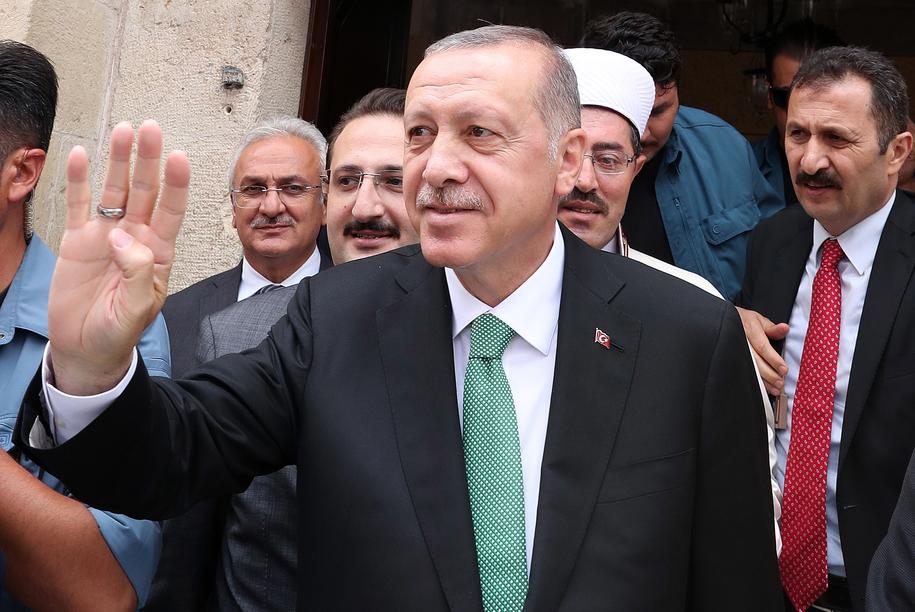 Recep Tayyip Erdogan /TURKISH PRESIDENTAL PRESS OFFICE / HANDOUT /PAP/EPA